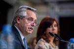 El presidente argentino, Alberto Fernández, habló por dos horas en el Congreso
